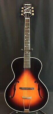 Epiphone Masterbilt Century Zenith Archtop F-Hole Acoustic-Electric Guitar