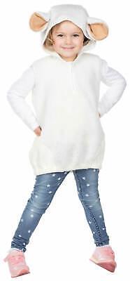 Schäfchen Schaf weiß Kinder Karneval Fasching Kostüm 92-116