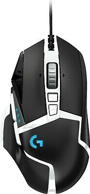 Logitech G502 HERO SE Wired Optical Gaming Mouse with RGB Lighting - Black