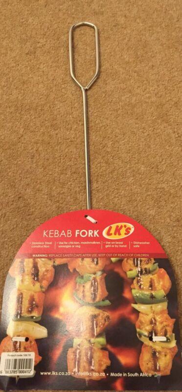 Brand+New+LK%27s+Stainless+Steel+Kebab+Fork+%283+Prongs%29+-+Braai+Accessories