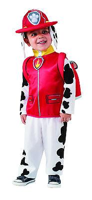 Dalmatian Costume Toddler (Toddler Marshall Paw Patrol Costume Dalmatian Fire Dog Child Size)