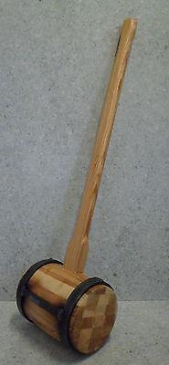 Holzschlegel 6 kg Schlegel Holzhammer Einschlaghammer HolzbauHolzschlegel6 kg