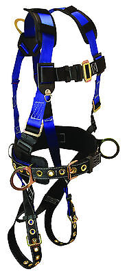 Falltech Safety Harness 7073sm3 D-rings 4 Waist7 Shoulder Strap Buckle-1ea