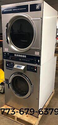 Dexter Commercial 30lb Stack Washer Dryer Opl