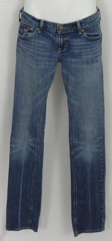 Hollister Junior's Jeans Size 1R Stretch Skinny / Straight Quality Jeans