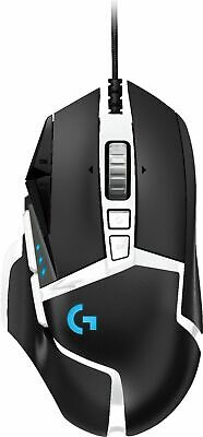 Logitech - G502 HERO SE Wired Optical Gaming Mouse with RGB Lighting - Black