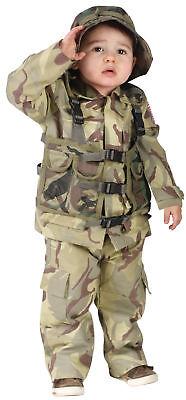 Delta Force Original Kleinkinder Kostüm Tarnung Shirt-Armee Uniformen Funworld