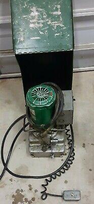 Tested Greenlee 960 10000 Psi Electric Hydraulic Pump Ed4u 8116