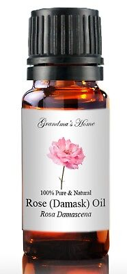Rose Essential Oil - 10 mL - 100% Pure and Natural - Free Shipping - US Seller