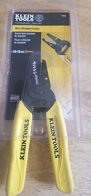 New Klein Tools 11045 10-18 Dual Wire Stripper Cutter Tool 6085070
