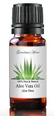 Aloe Vera Oil - 5 mL - 100% Pure and Natural - Free Shipping - US Seller Aloe Vera Essential Oil