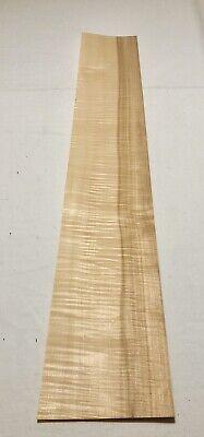 Curly Maple Wood Veneer 5 Sheets 39.5 X 6 8 Sqft