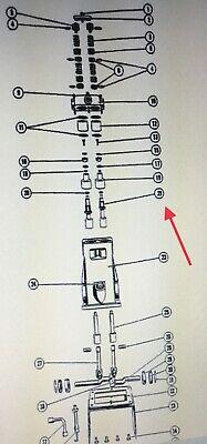 Fmc John Bean Cross Head Sleeve Fits R10 R4 R5a R5b R7 R2020 Sleeve Part 1218743