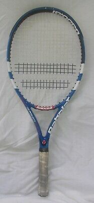 BABOLAT PURE DRIVE JR 25 TENNIS RACQUET USED IN GOOD CONDITION WITH LIGHT WEAR ()