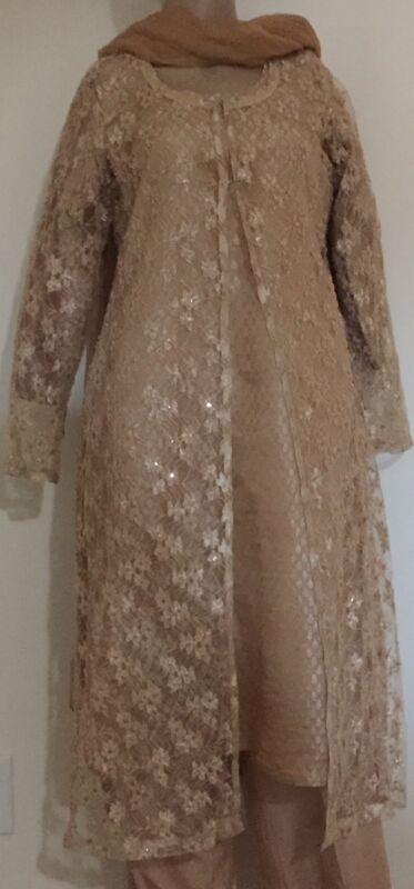 pakistani fancy dress plz read description medium size