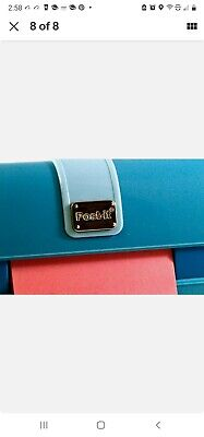 Post-it Pop Up Notes Fashion Dispenser - Teal Purse With Chain - New