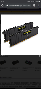 Corsair Ram 16gb and 8gb