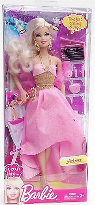 Mattel Y7373 Barbie I Can Be... Actress (Pink) Doll with Accessories