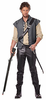 Adult Tavern Man Renaissance Medieval Halloween Costume Peasant Pirate Warrior - Tavern Man