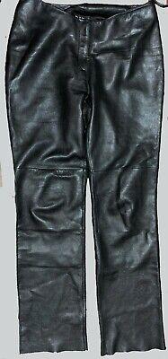 BEBE Black LAMB DISCO Pants Size 10 - Black Disco Pants
