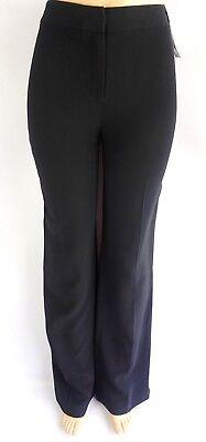 Black Straight Leg Trousers - Lafayette 148 Pants Black Straight Leg Dress Trousers Size 4
