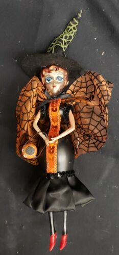 Private Collection: Halloween 180 Degrees Party Goer #1 Annealed Glass Ornament