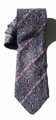 NEW Mens Silk Tie Necktie Slim Blue Enrico Guccini Red White Gray A3773