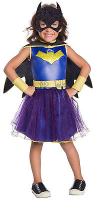 Kids Batgirl Blue & Purple Tutu Costume Superhero Halloween Size Small 4-6 - Blue Tutu Costumes