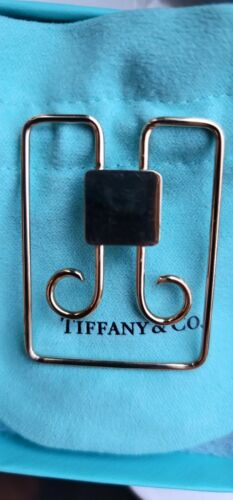 VINTAGE TIFFANY & CO 14K SOLID YELLOW GOLD  MONEY CLIP