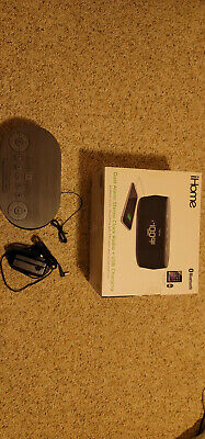 iHome Wireless Bluetooth Stereo, Dual FM Alarm Clock Radio, USB Charging- IBT38G