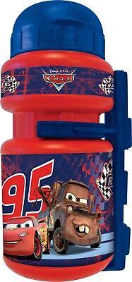 Bidon y Portabidon Infantil Niño Niña para Bicicleta Disney Cars Racers 95...