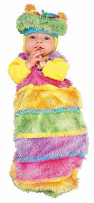 WIGGLY WIGGLE WORM CATERPILLER  HALLOWEEN COSTUME NEWBORN INFANT 3 - 6 M