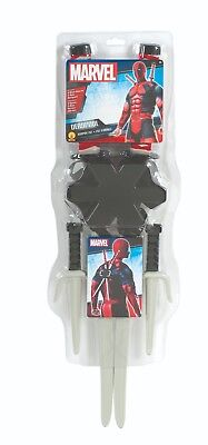 Rubies 336067 - Deadpool Weapon Kit, Kostüm Zubehör Set