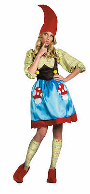 Ms. Gnome Adult Womens Costume Travel Tunic Cute Halloween](Womens Gnome Costume)