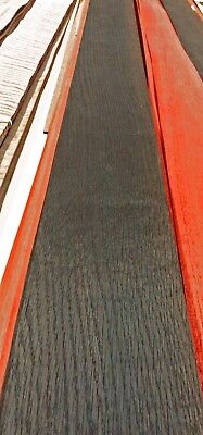 Oak Black Brown Fumed wood veneer 5