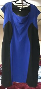 Body Shaping Blue Dress 2xl