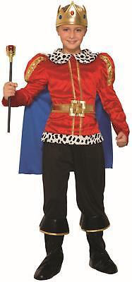 Child King Halloween Costume (Royal King Regal Kids Halloween Costume Small)