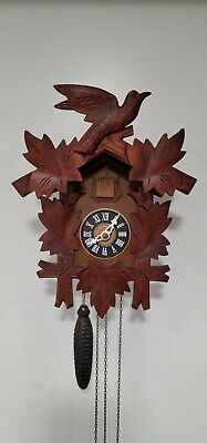 Vintage West German Cuckoo Clock For Parts or Repair. Please Read Description.
