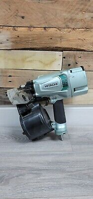 Ma4 Hitatchi Nv83a5 34 Pneumatic Coil Nailer In Great Condition Free Shipping