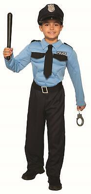 Police Officer Hero Child Cop Uniform Costume Large 12-14](Cop Uniform Costume)