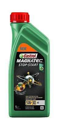 Castrol | Motoröl 5W-30 Magnatec Dualock Stop Start A5 (1 L) (15CA42) für Dacia