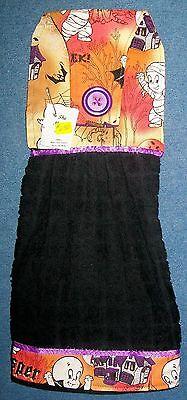 Halloween Casper The Friendly Ghost Hanging Kitchen Hand Towel 630