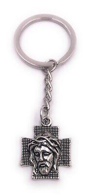 z Schlüsselanhänger Anhänger Silber aus Metall (Kreuz-schlüsselanhänger)