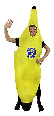 KINDER BANANEN KOSTÜM KINDER GESUNDES ESSEN FRUIT KOSTÜM - Bananen Outfit
