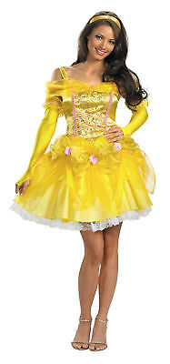 DISNEY BEAUTY AND THE BEAST SASSY BELLE ADULT WOMENS COSTUME Princess Halloween - Sassy Belle Costume