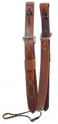 "2"" Wide Medium Oil Rear Girth or Flank Cinch With Billets New Horse Tack"