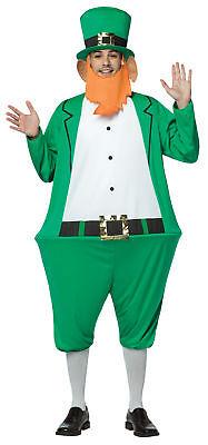 Leprechaun Hoopster St Patrick's Irish Fun Adult Costume Halloween Rasta Imposta