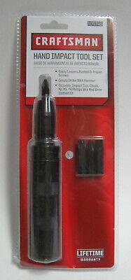 Craftsman Hand Impact Driver Mechanic Tool Set 1/2 Inch Drive 8mm Bit... 04746