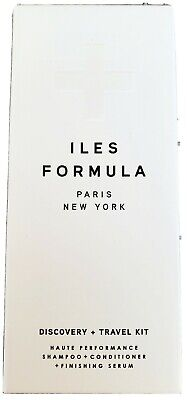 Iles Formula Discovery + Travel Kit (Shamp/Cond/Serum/Comb)