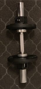 Band New Northern Lights Olympic dumbbell set kit!